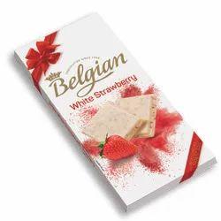 Belgian White Strawberry Chocolate