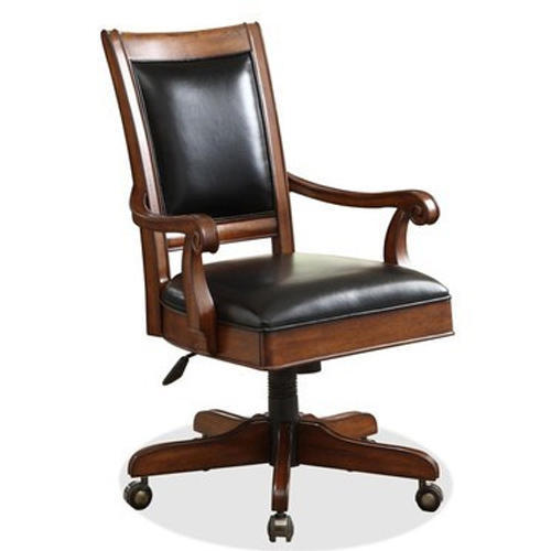Peachy Wooden Office Chair Download Free Architecture Designs Sospemadebymaigaardcom