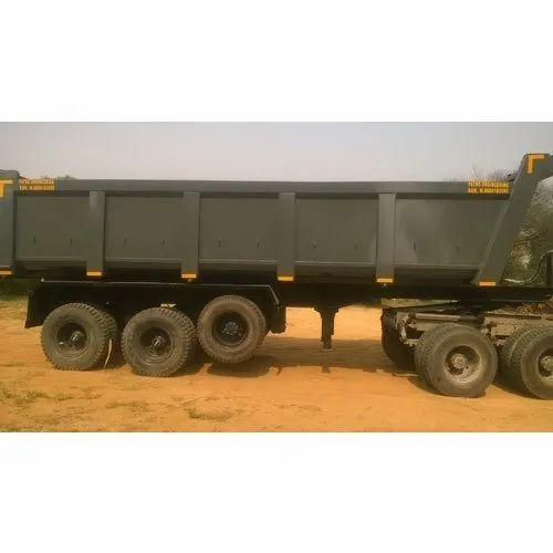 Mild Steel Truck Trailer