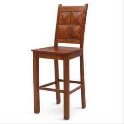 Rajtai Shree Brown Sheesham Wood Bar Chair, For Seating