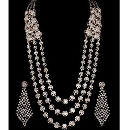Real Diamond Necklace Set