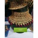 Brass Party Wear Imitation Necklace