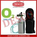 Desco Oxygen Cylinder Aluminium 2 Ltrs For Hospital