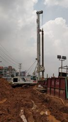 Hydraulic Rotary Piling Service