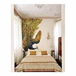 Peacock Wall Painting