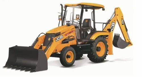 JCB 2DX Backhoe Loader, 49.5 hp, 5220 kg