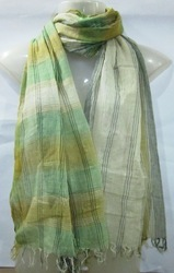 100% Cotton Shaded Scarfs