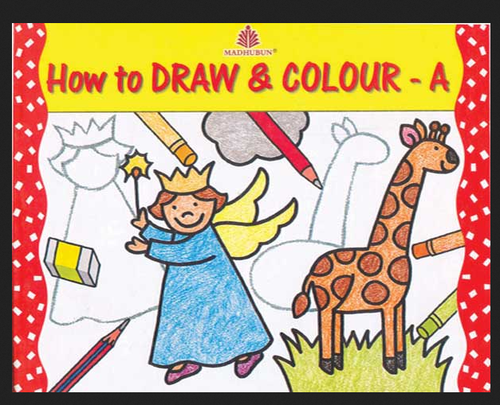 Madhubun How To Draw And Colour Book