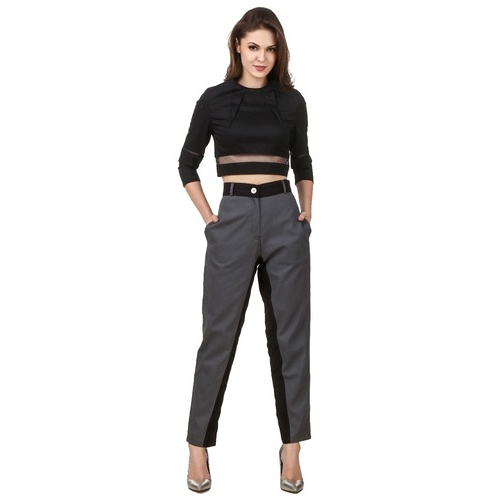 7a859e61435a1 Large And XL Ladies Crop Top And Trouser