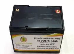 48 Volts 24AH Lithium Ferrous Phosphate Battery