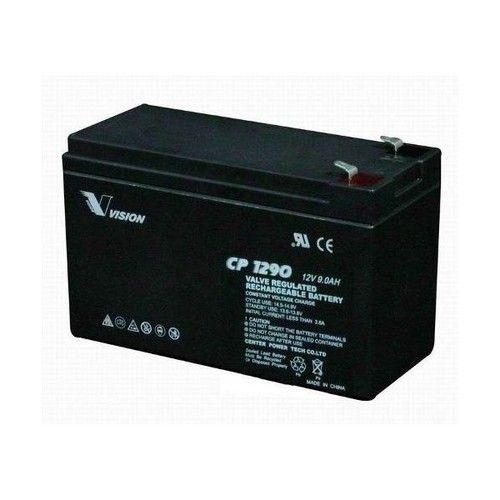 Vision 9AH Sealed Lead Acid Battery CP 1290 Voltage 12 V