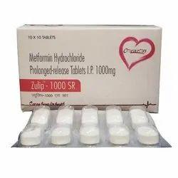 Metformin Hydrochloride Prolonged Release Tablets