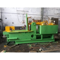 Double Action Hydraulic Scrap Baling Press