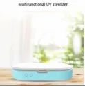 5V Dual UV Phone Sterilizer Jewelry Phone Box Personal Disinfectant Cleaner