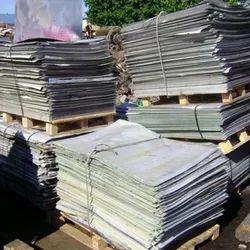 Silver Aluminum Sheet Scrap