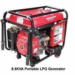 8.5KVA Portable LPG Generator