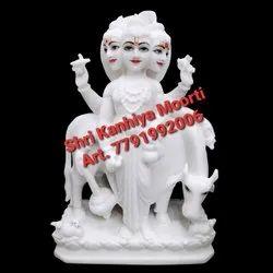White Marble Duttatrya Statue