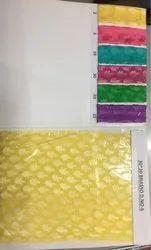 Yellow Silk Brasso Fabric
