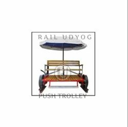 Railway Push Trolley