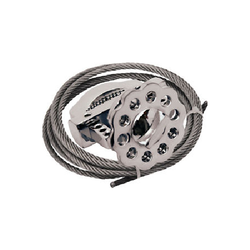 Metallic Multipurpose Cable Lockout
