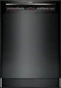 800 Series Shem78w56n Black Dishwasher