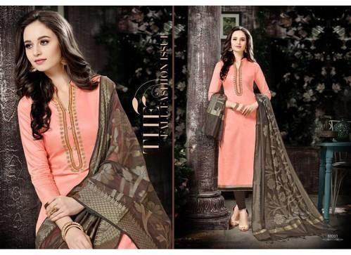 5c5c5d109d Cotton Printed Banarasi Dupatta Salwar Suit, Rs 850 /piece | ID ...