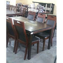 Wooden Brown Designer Dining Table, For Hotel