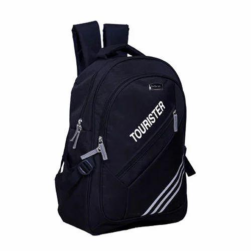 6633c289ac63 Nylon Black Lapaya Laptop Bags   School Bag