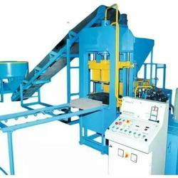 Semi Automatic Paving Block Making Machine