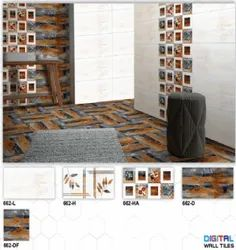 D-2 Hexa Ceramic Digital Wall Tiles Matt Series
