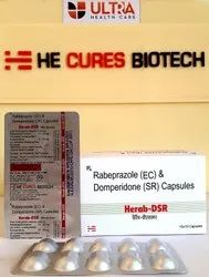 Rabeprazole 20mg   Domperidone 30 Mg Sustained Release Capsule
