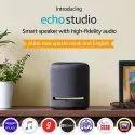 Echo Studio Smart Speaker With High-Fidelity Audio And Alexa (Black)