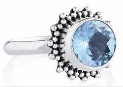 92.5 Blue Topaz Rings