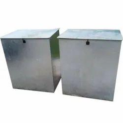 Galvanized Steel Storage Container
