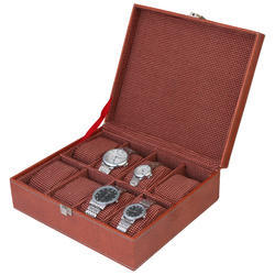 08 Brown Watch Organizer