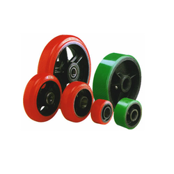 Annu Red & Green Polyurethane Wheel, Pack Size: 25kgs, 220 Kgs