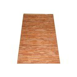 Brown Leather Rug