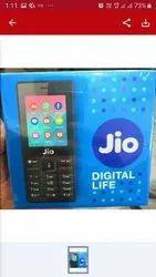 Black Jio Phone