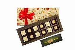 Velvet Fine 12 Assorted Chocolates & Bro Rakhi