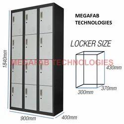 12 Door Industrial Locker