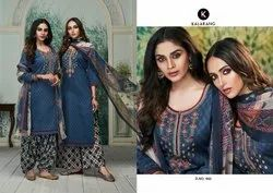 Kalarang Rangat Jam Silk Cotton Summer Wear Salwar Kameez