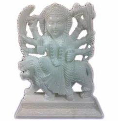 Marble Stone Durga Statue