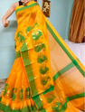 Yellow No 1 Banarasi Handloom Sari