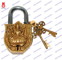 Lock W/Key Laxmi Design