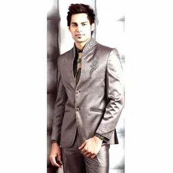 Mens Grey Wedding Suit, Size: 34-40