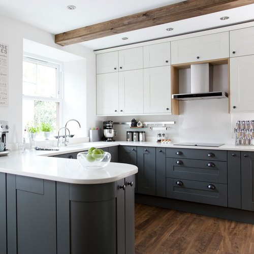 U Shape U Shaped Modular Kitchen Kitchen Cabinets Rs 4000 Running
