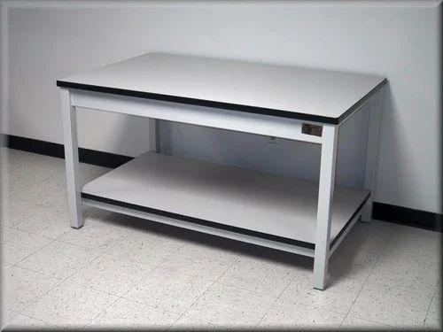 Scientific Lab Wood,SS Laboratory Table
