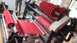 Tarpaulin Slitter Rewinder Machine