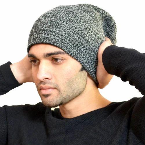 5782dffba1c Grey Jolly Doaba Men  s Woolen Caps
