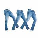 Mens Casual Wear Denim Jeans